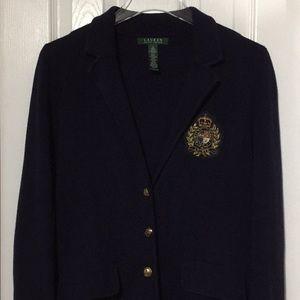 Exclusive Ralph Lauren cotton blazer size Small ee